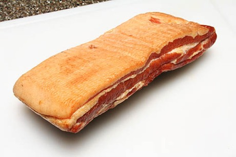 Pre-sliced bacon